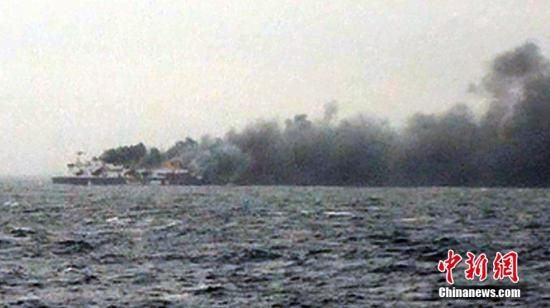 意大利称载400多人渡轮火势已获控制营救继续