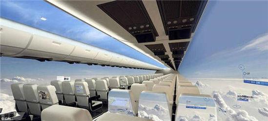 英國將推出全透明飛機 可享受360度全外景