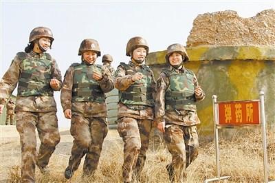解放军女中士不怕暗伤练成世博安保尖兵(图)