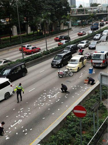 香港女子交回百萬運鈔車掉錢 警方:不還最高判十年