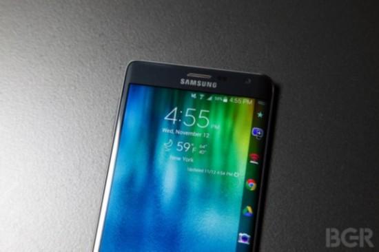 三星员工曝GALAXY S6原型机有弧面屏版本