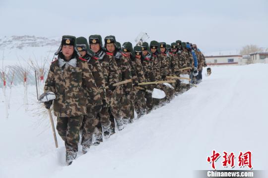 西藏阿里南部出现强降雪暂无受灾报告