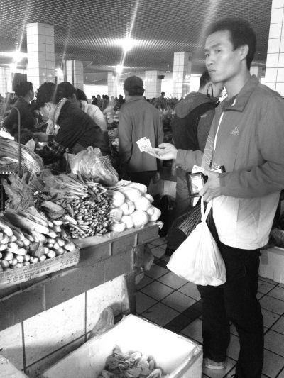 新一年里农贸市场摊主期盼:市场摊位费别涨