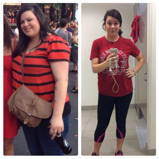 胖子们都是潜力股 美女减肥前后对比照