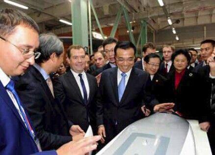 總理在俄羅斯簽署高鐵合作備忘錄