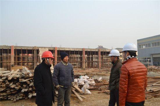 汊河经济开发区开展建筑工程安全生产检查工作