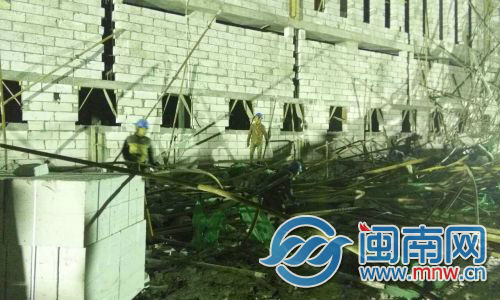 厦门翔安区两名工人高处作业坠亡