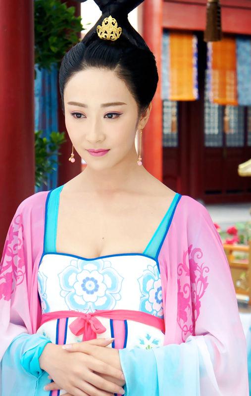 《武媚娘传奇》颜值爆表 刘芷汐古典气质获赞