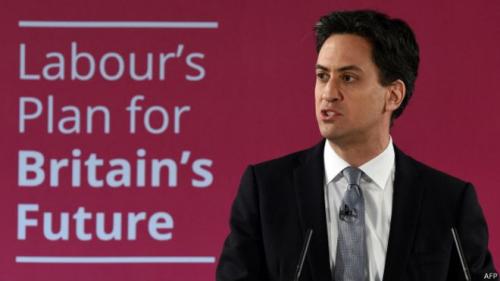 """英国大选选战打响工党指责执政党承诺""""虚伪"""""""