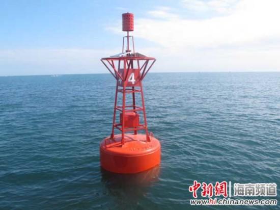 国家一级渔港潭门港新增6座灯浮标