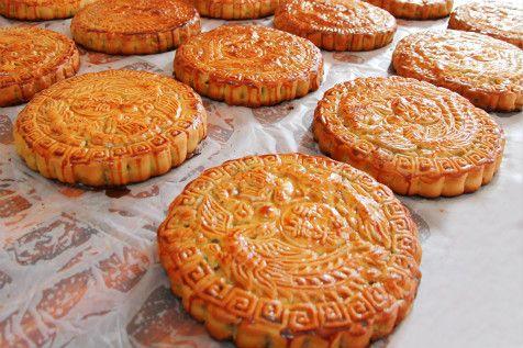 幼儿手工制作彩泥月饼