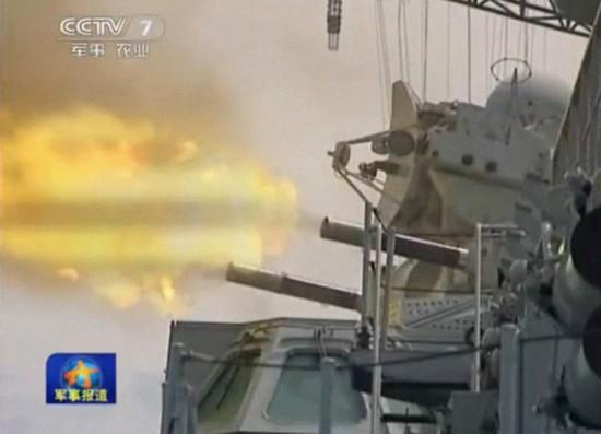 中国三大舰队在西太举行史上最大规模军演