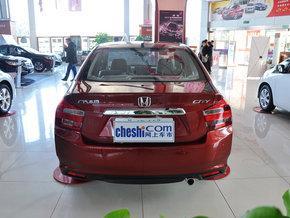 广汽本田 风尚 1.5L 自动 车辆正后方尾部视角