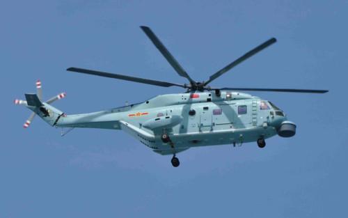 资料图:直18反潜直升机