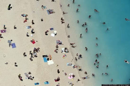 海滩,沉船,爱奥尼亚,希腊,赫芬顿邮报