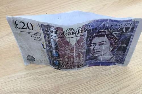英国出现最山寨假币警方呼吁民众提高警惕(图)