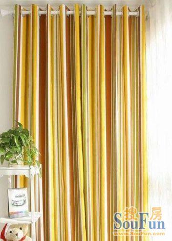 时尚帆布窗帘定做,现代简约风格布艺窗帘.-多种风格窗帘大集锦 爱图片