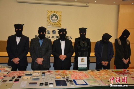 澳门司警侦破一大型控制卖淫集团拘6人