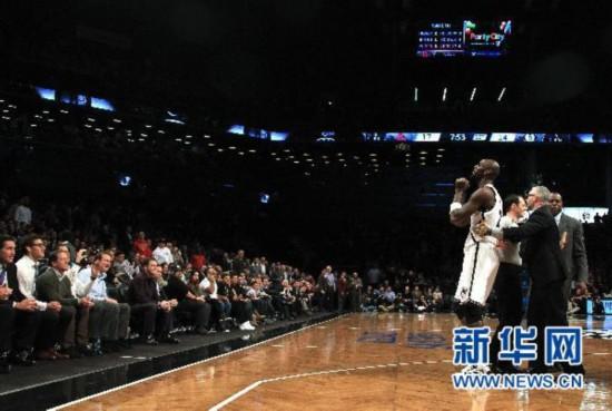 (体育)(1)篮球――NBA常规赛:网队负于火箭