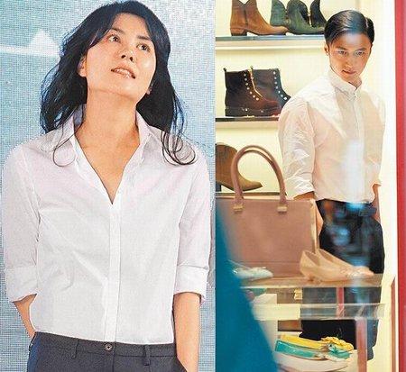谢霆锋王菲穿同款衣服