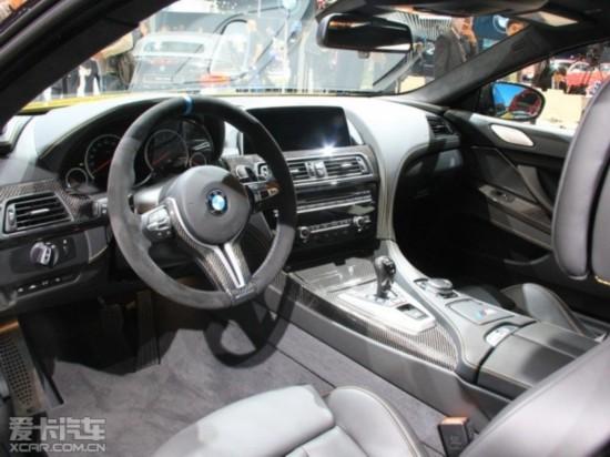 宝马新M6 Coupe北美车展首发 外观小改