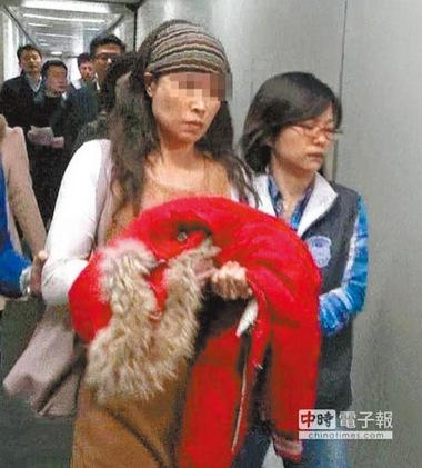 """大陸""""徐娘半老""""通緝犯潛逃台灣4年獲4男包養(圖)"""