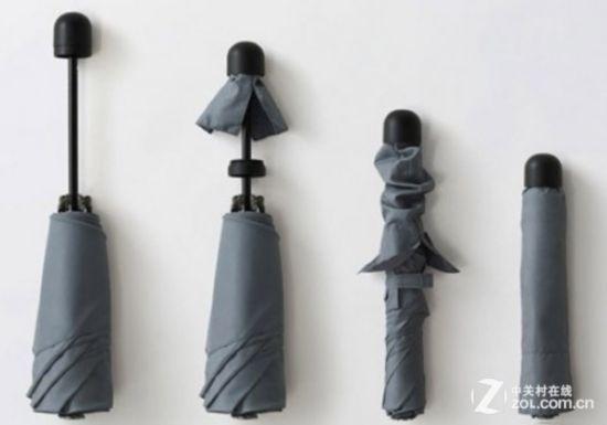 别具新意的防丢伞套 国外惊现新式雨伞