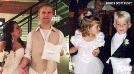 3歲小花童20年后成夫妻 如果你也相信愛(組圖)