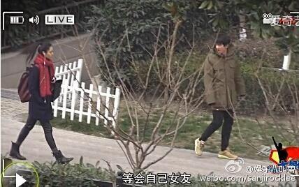 林更新陈碧舸恋情曝光 周冬雨闹菇新欢旧爱PK