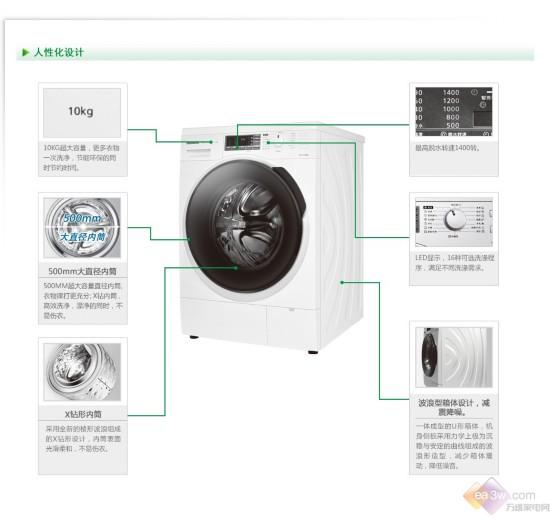 大容量高智能   松下全自动洗衣机推荐
