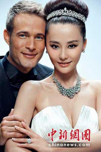 曲婉婷刘烨邓文迪马雅舒 盘点和外国人结婚的明星