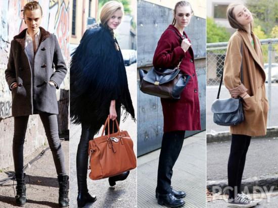大衣;外套;街拍