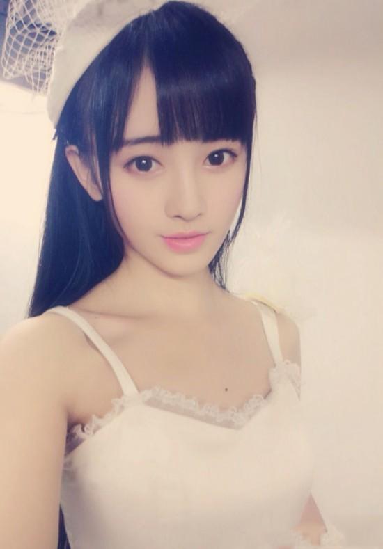嫩模代言游戏 被日媒评为中国第一美女【32