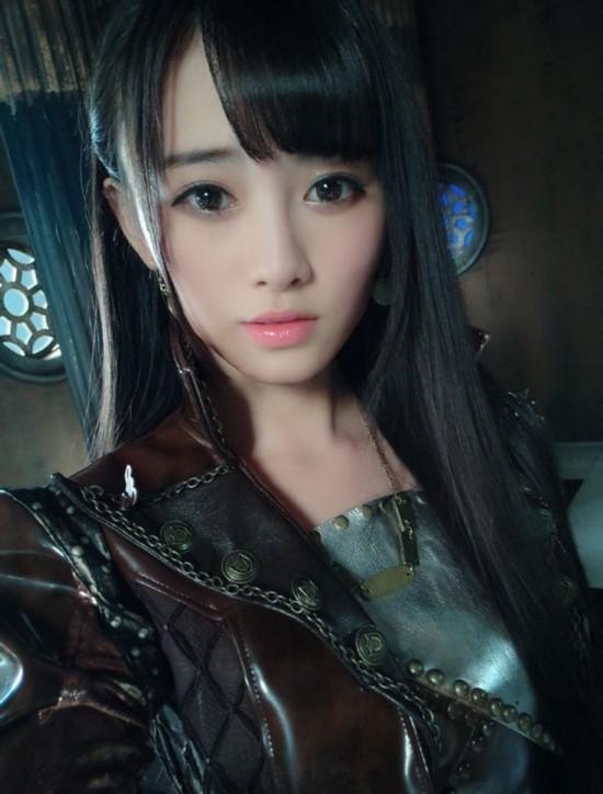 嫩模代言游戏 被日媒评为中国第一美女【27