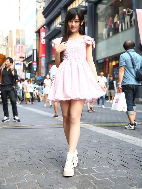 嫩模代言游戏 被日媒评为中国第一美女【36