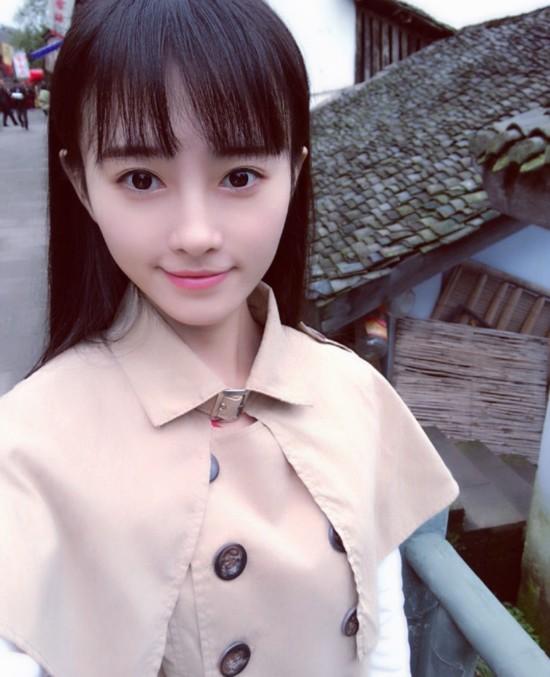 嫩模代言游戏 被日媒评为中国第一美女【30