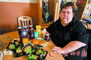 英任性胖母女宁可胖着吃救济粮也不愿减肥工作(图)