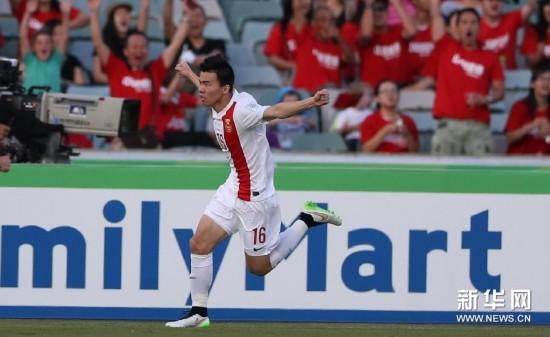 (亞洲杯)(3)足球——小組賽:中國隊對陣朝鮮隊