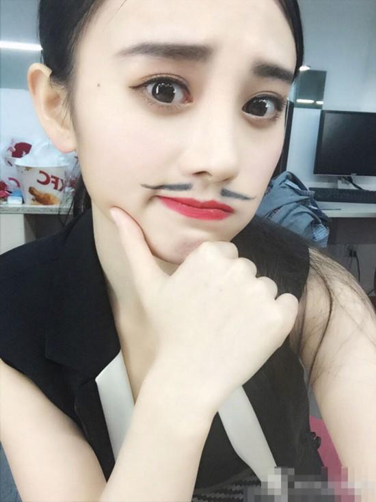 嫩模代言游戏 被日媒评为中国第一美女【16