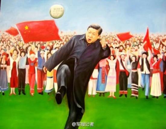 立体中国论坛_油画中的习近平--时政--人民网