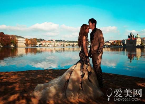 周杰伦英国娶昆凌 婚礼现场如童话世界