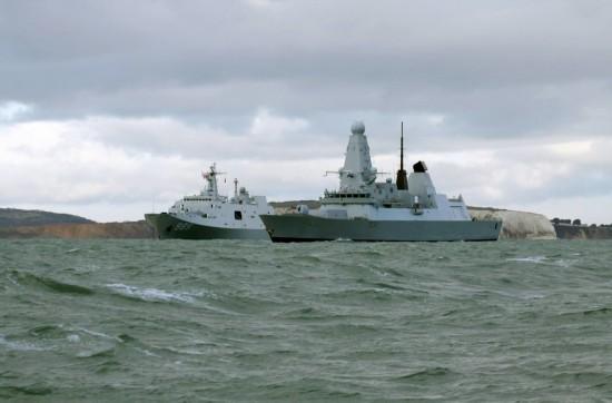 中国海军舰队访英 英媒发酸:可惜不是我们的