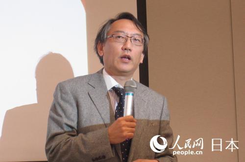 富士通总研首席研究员柯隆在研讨会上作主题发言