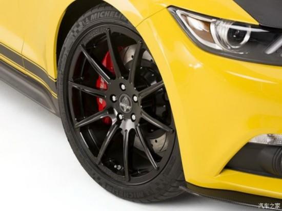 性能更强 福特野马Shelby GT官图发布