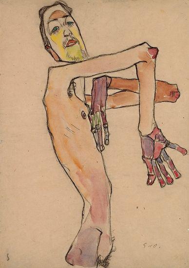 席勒/⑥埃贡·席勒:激进的裸像 考陶德美术馆
