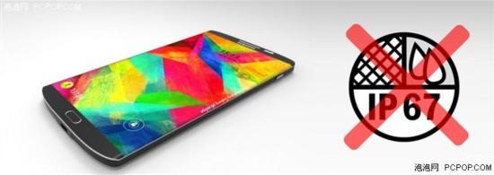 简配?三星Galaxy S6不会拥有防水特性