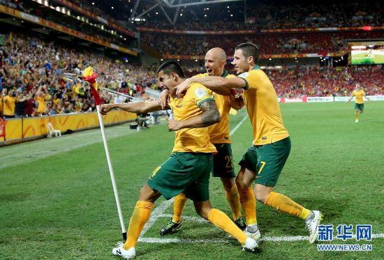(亚洲杯)(9)足球――四分之一决赛:中国队对阵澳大利亚队