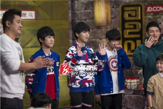 王源、王俊凯、易烊千玺携主持人李维嘉、E哥勇闯麦咭密室。