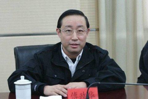 全国政协社会和法制委员会副主任傅政华接受审查和调查
