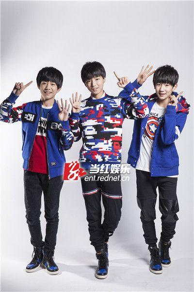 三人录制综艺节目《疯狂的麦咭》。